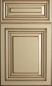 Door with Pinstripe Glaze