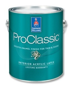 ProClassic Interior Acrylic Latex Enamel paint