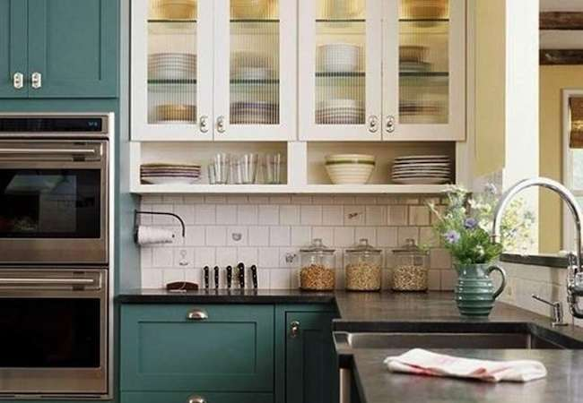 repainting painted kitchen cabinets the cabinet refinishing process 7 simple steps 25401