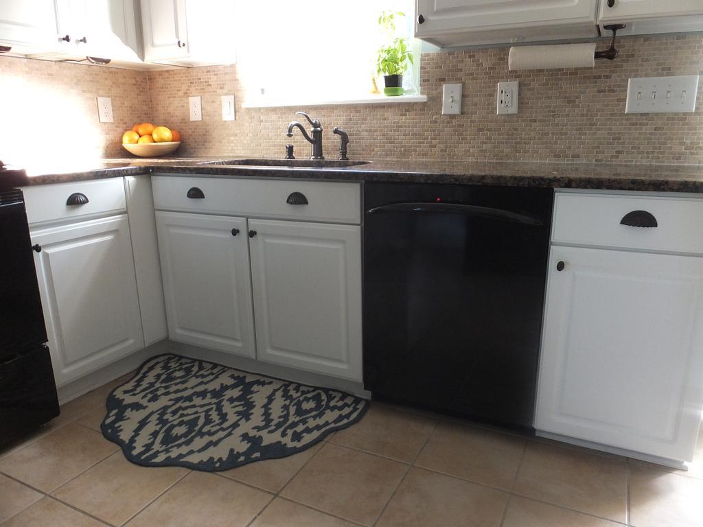 Builder Grade Melamine Cabinets Rescued