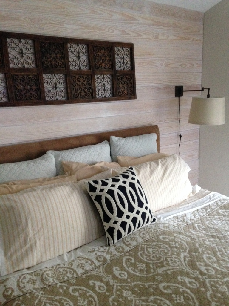 T&G Headboard Wall 01