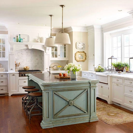 French Country Kitchen Cabinets: Make Your Kitchen Island Stand Out