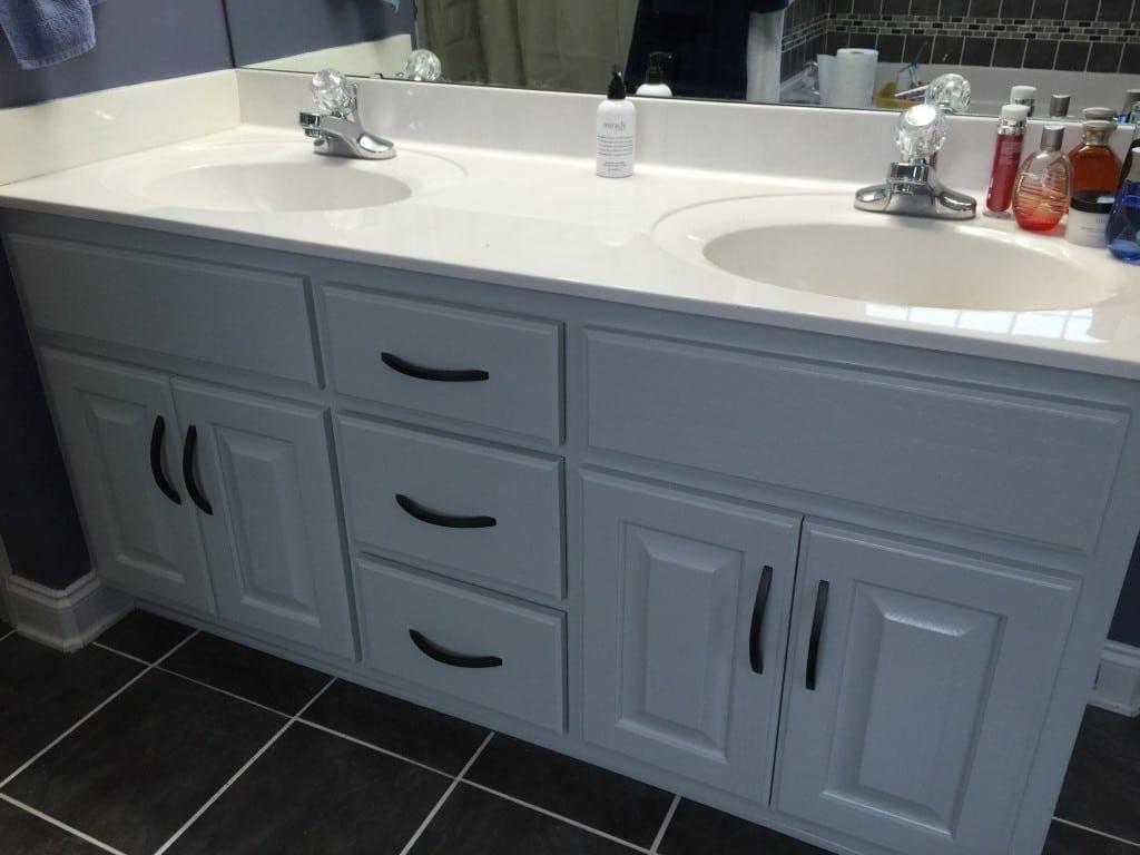 Silver Strand Bathroom Vanity 2 Cabinet Girls