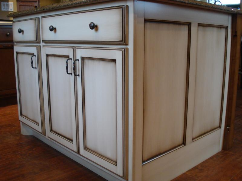 How To Glaze Kitchen Cabinets White
