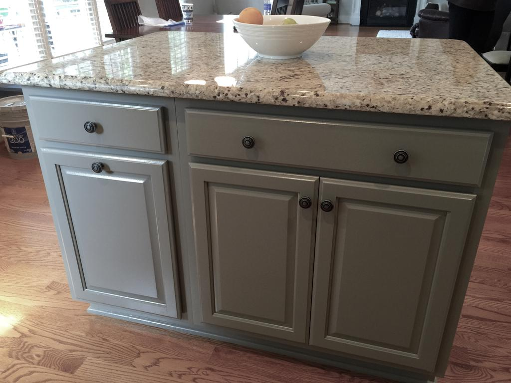 Taupe Gray Kitchen Cabinets
