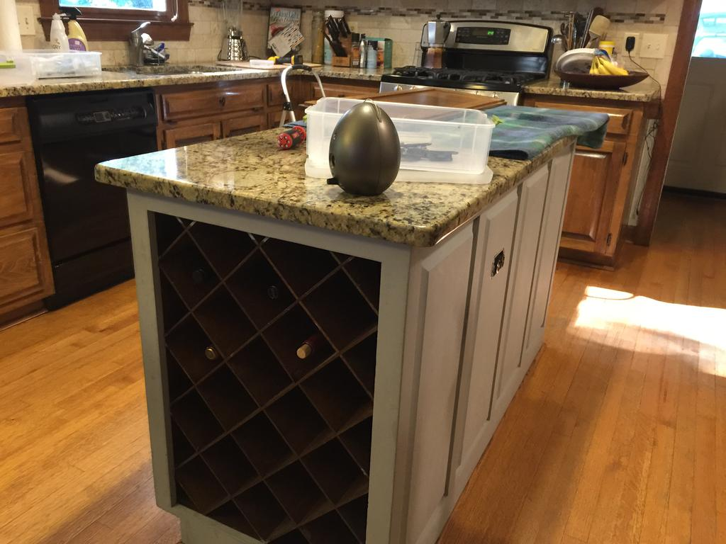gray cloud cabinets  u0026 sherwin williams caviar island