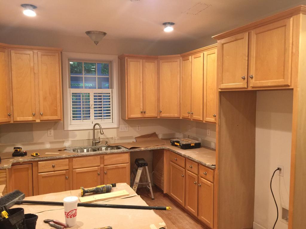 Toque White 2 Day Kitchen Transformation 2 Cabinet Girls