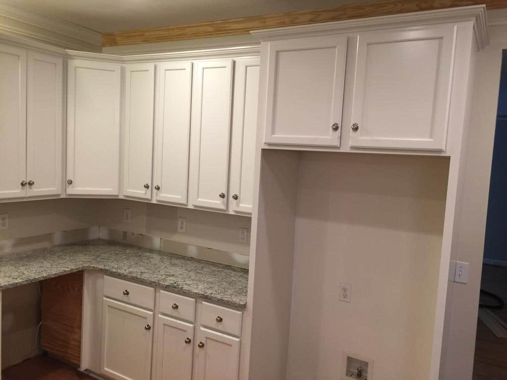 Toque White 2 Day Kitchen Transformation 2 Cabinet Girls