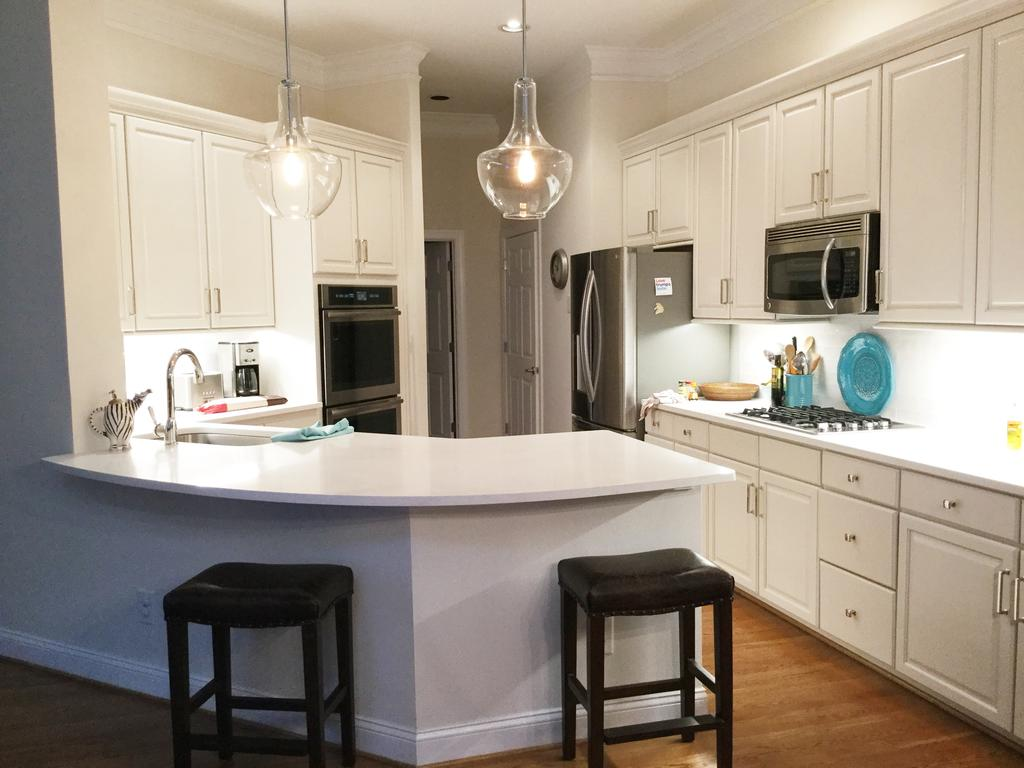 Kitchen counters and
