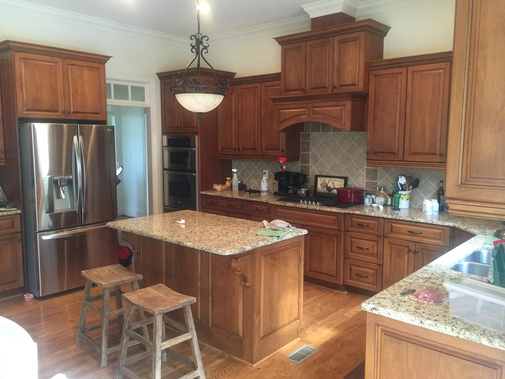 Color Match Kitchen - 2 Cabinet Girls