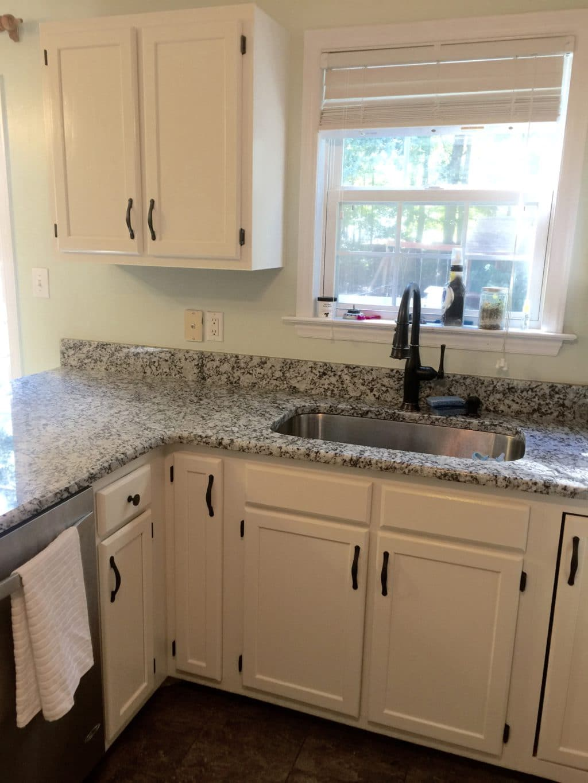 Cool White Sherwin Williams Kitchen Cabinets