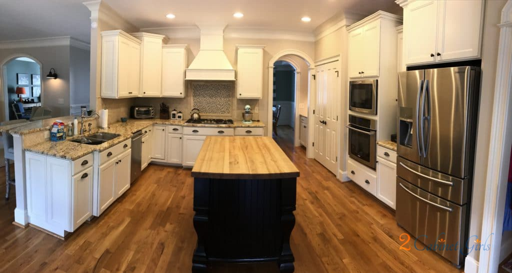 Tony Taupe Kitchen Cabinets
