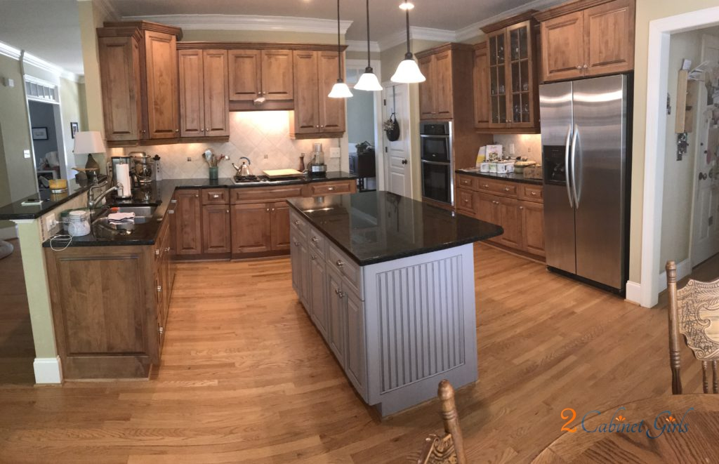 Truly Taupe Island 2 Cabinet S