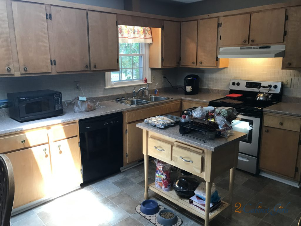 Place Of Dust Kitchen Cabinets 2 Cabinet Girls