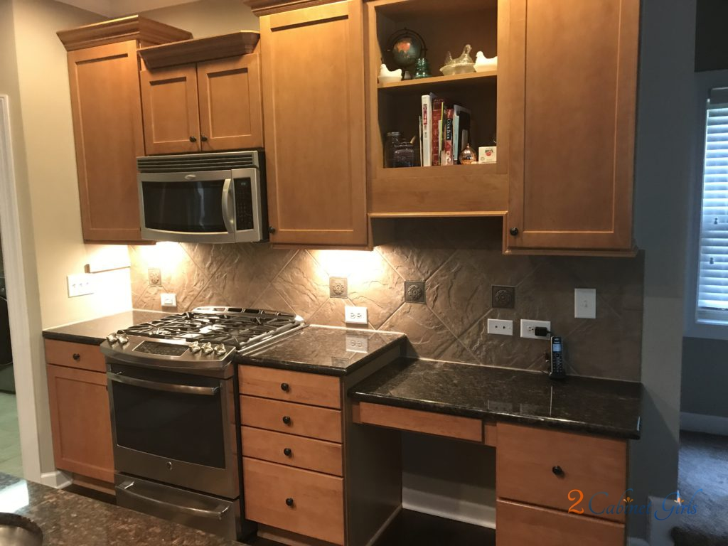 Balboa Mist Painted Kitchen Cabinets Laundry Room In