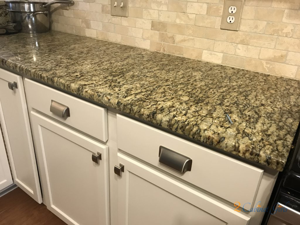 Kitchen Countertop Island Overhang Leave Space Under The