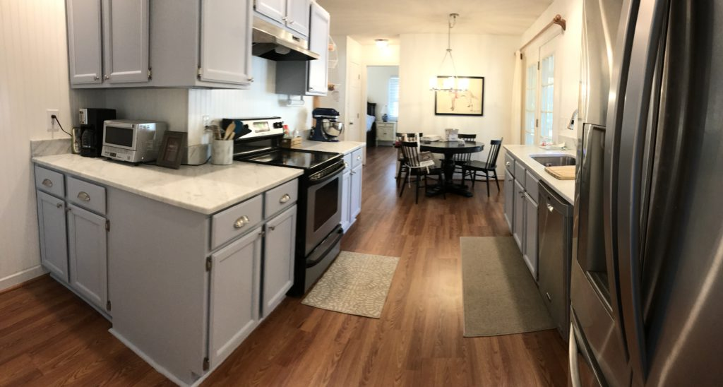 Upward-Oak kitchen update - 2 Cabinet Girls