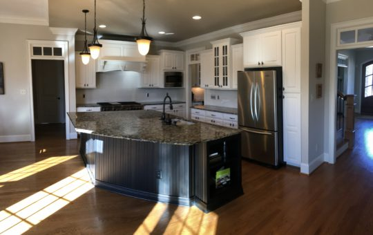 Dover White kitchen transformation
