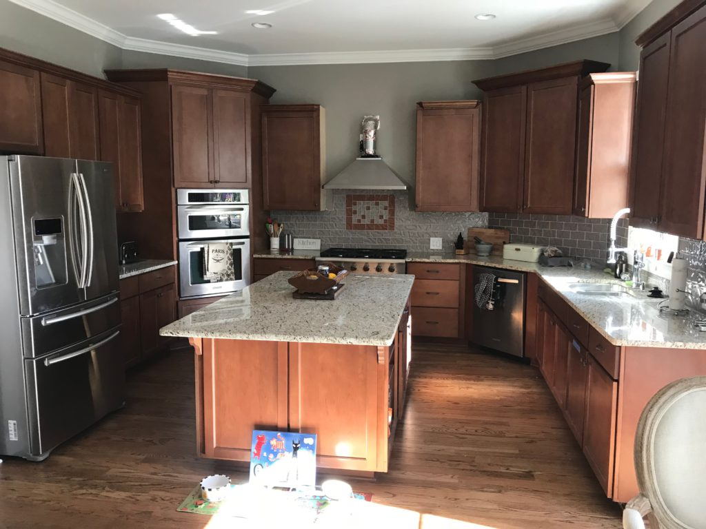 Paint Kitchen Cabinets Before And After