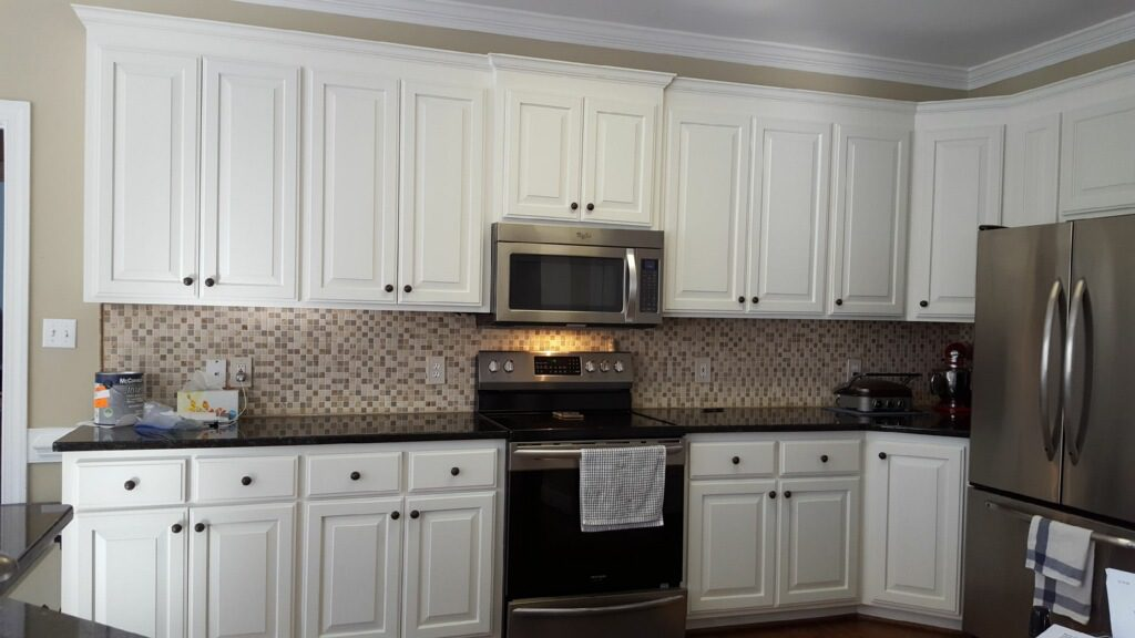 Oak Kitchen Cabinet Renovation Greek Villa