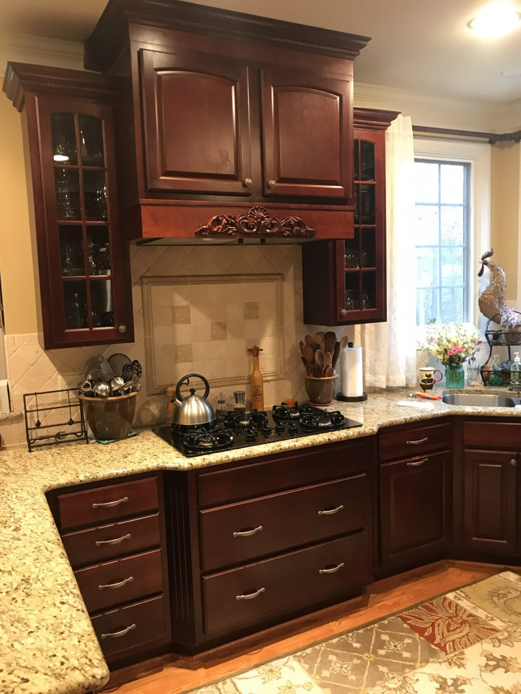 Custom Color Match Kitchen and Laundry Room - 2 Cabinet Girls