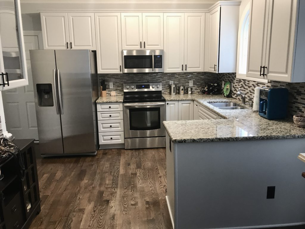 Light French Gray Kitchen Update 2 Cabinet Girls