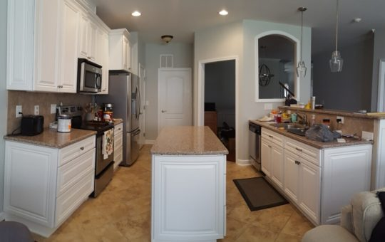 White Dove Kitchen & Island