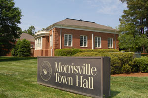 Morrisville, NC town hall
