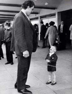 Boy sees Andre the Giant