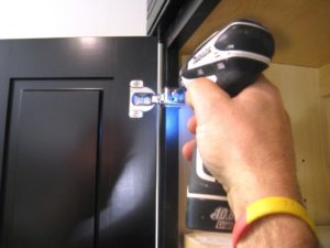 cabinet door installer