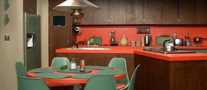 The Brady Bunch kitchen from the tv series