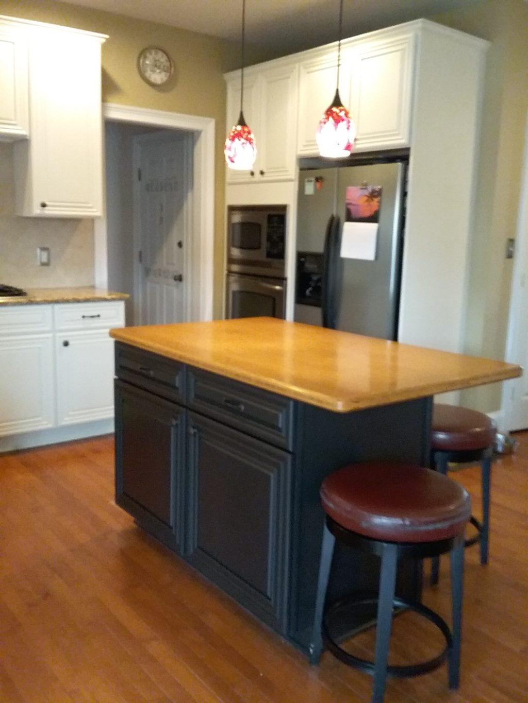 Creamy Kitchen, Butler Pantry & Black Magic Island - 2 ...