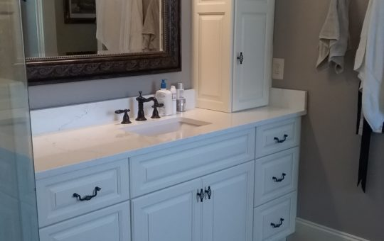 Color Match Master Bathroom