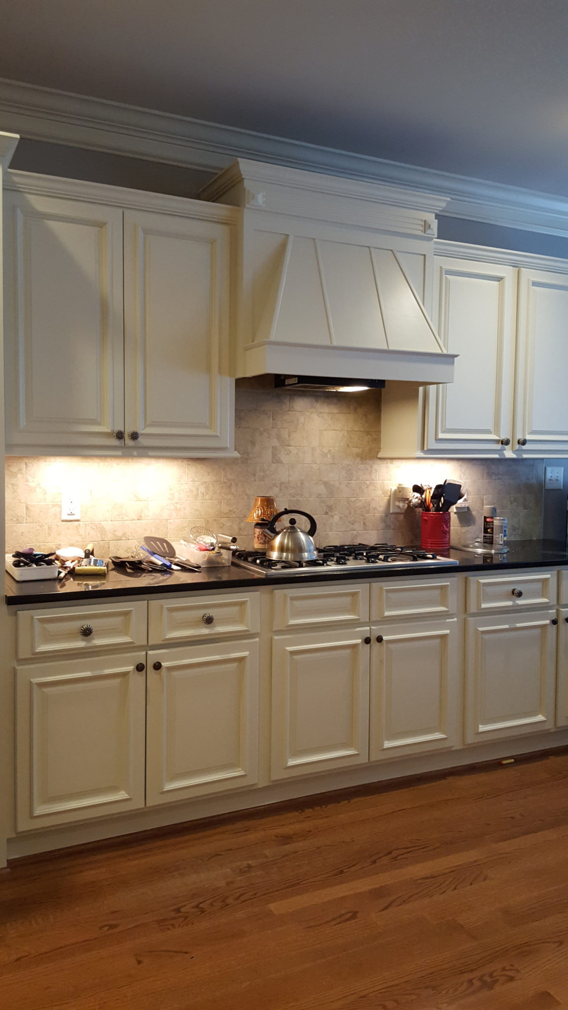 Muslin Kitchen And Perpetual Gray Butler Pantry 2
