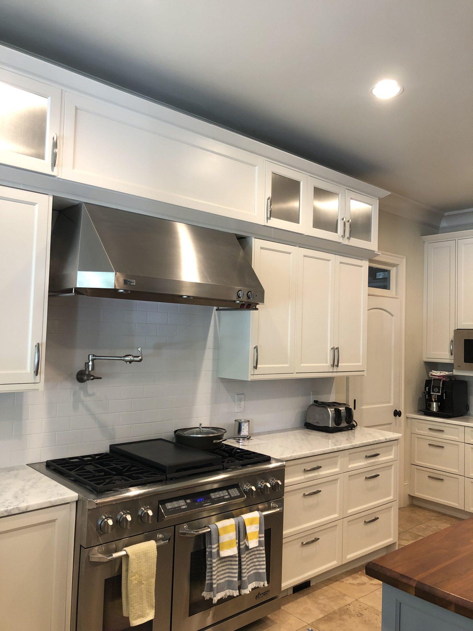 Panda White Kitchen - 2 Cabinet Girls